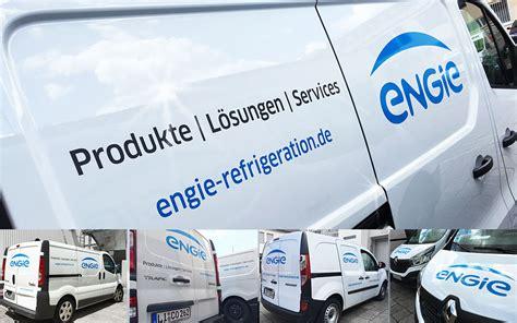 Folienbeschriftung W Rzburg by Fahrzeugbeklebungen Engie Deutschland Partner F 252 R Druck
