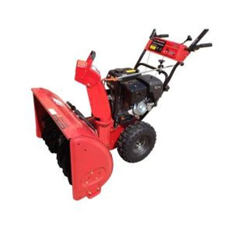 powerland 32 in two stage electric start gas snow blower