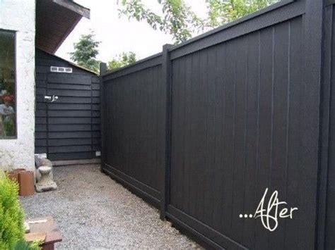 backyard fence paint colors 1000 ideas about black fence on pinterest fence