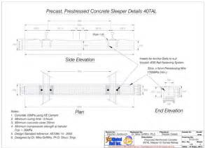 prestressed fibre concrete sleeper karthick subramani