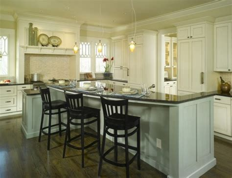 kitchen island with raised seating area curved island raised seating area for safety higher than