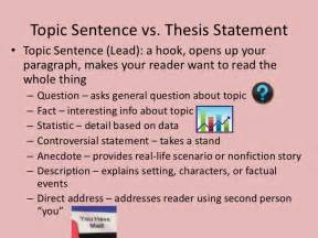 thesis statement sentence getting started with writing in 7th grade fall 16 honors 10 archived