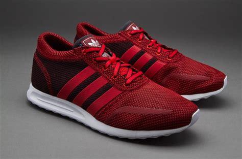 mens shoes adidas originals mens los angeles trainer red