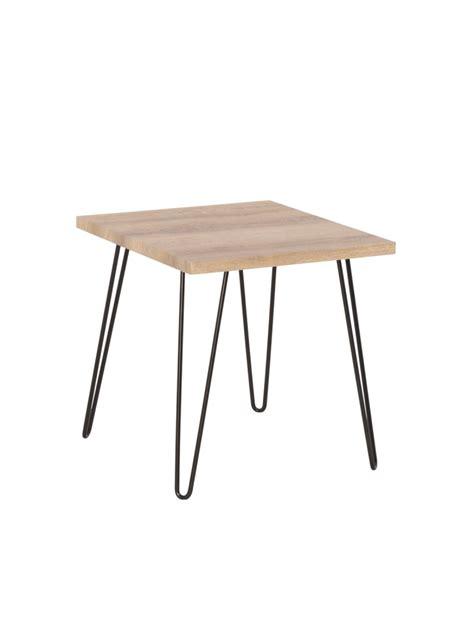 Pieds Metal Pour Table 6726 by Table Basse New Town Int 233 Rieur Pieds M 233 Tal Noir Plateau Bois
