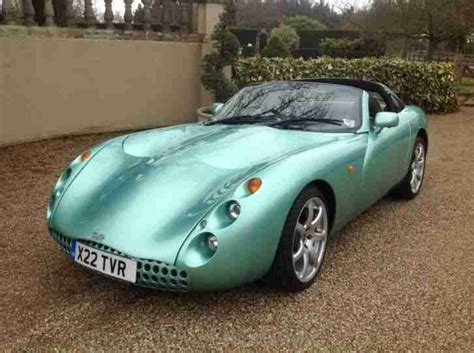 Tvr Convertible Tvr Tuscan Convertible 2001 Green History Plate