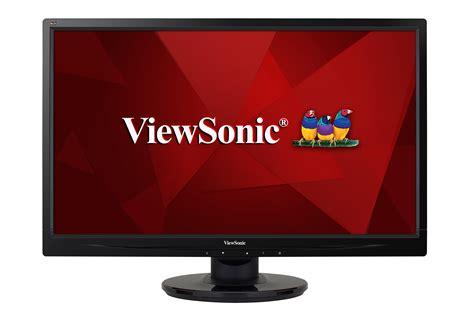 Led Monitor Viewsonic va2445 led 24 quot fhd led monitor with vga and dvi led display products viewsonic