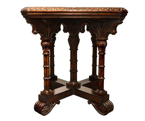 gothic style table ls gothic style game table at 1stdibs
