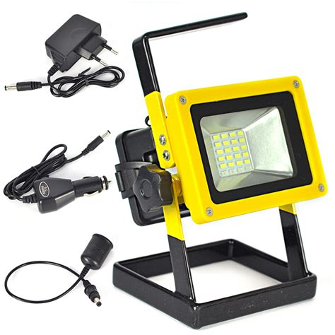 rechargeable outdoor lights 10w floodlights rechargeable 24 led flood light l