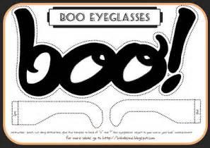 printable boo halloween glasses printables 4 mom
