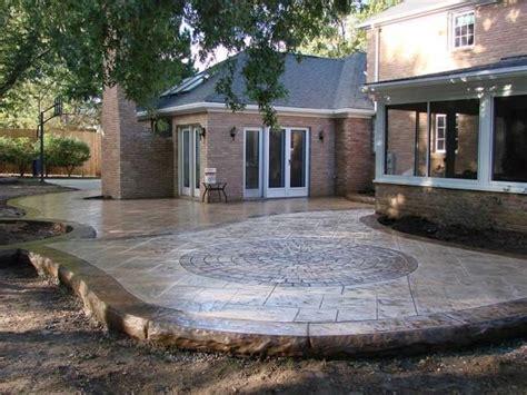 poured concrete patio ideas buffalo concrete contractors