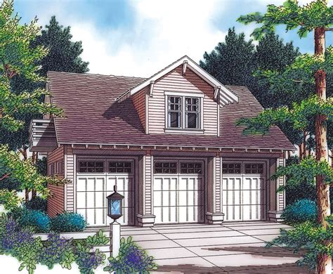 detached guest house plans detached garage with guest house potential 69570am