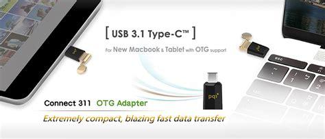 Otg Type C Reader Usb 3 1 Pqi Connect 311 Murah pqi connect 311 adapter otg usb 3 1 type c