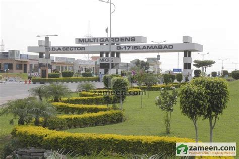 Garden Of S Multi Map And Location Of Multi Gardens B 17 Islamabad Zameen