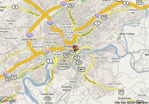 us map knoxville tn map of hton inn suites knoxville downtown tn knoxville