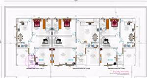 row house design and plans kerala home design and floor plans
