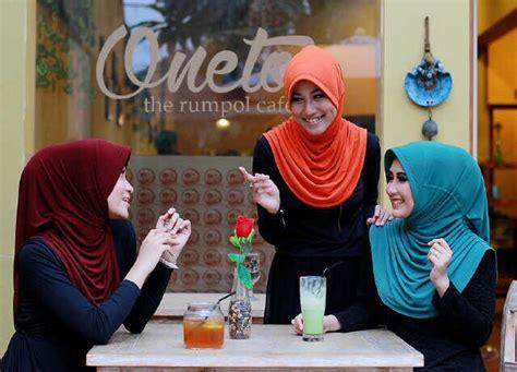 Supplier Ori Elnifa Rumana Polka jilbab rumana polos oneto supplier jilbab branded