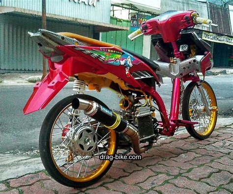 Gambar Motor Vario Modifikasi by Modifikasi Motor Vario 125 Drag Modifikasi Yamah Nmax