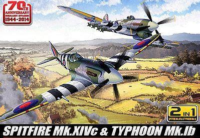 Plastik Sheet Ib spitfire mk xivc typhoon mk ib aircraft plastic model