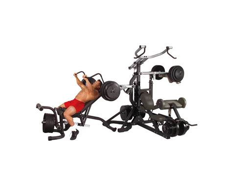 solid powerlift leverage sbl460p4 home workout
