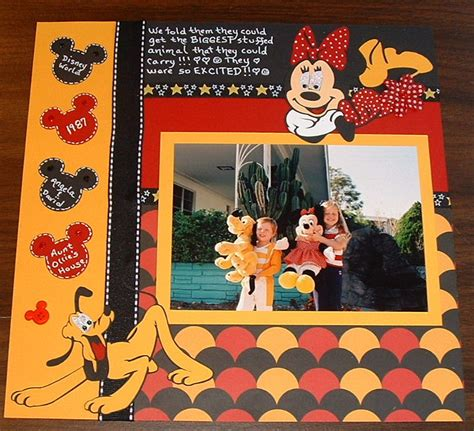 scrapbook layout gallery disney scrapbook layout gallery bing images