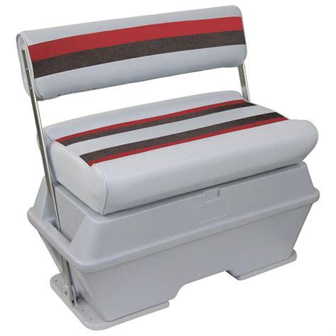 wise cooler seat installation wise 174 deluxe pontoon flip flop cooler seat 161013