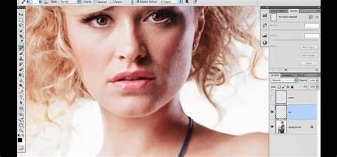 adobe photoshop cs5 retouch tutorial how to clean up the background when retouching an image in