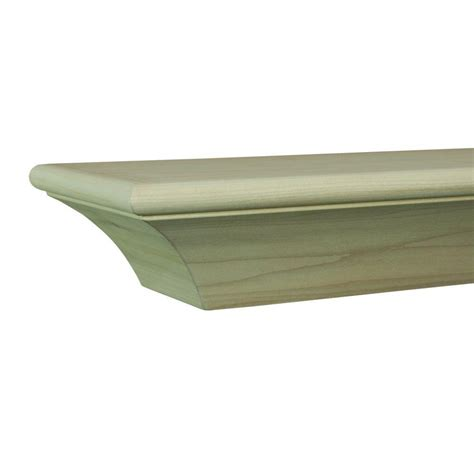 the lindon 5 ft cherry distressed cap shelf mantel 490 60