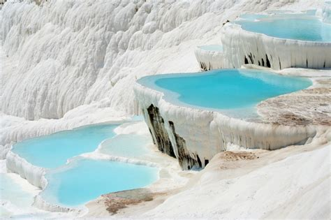cotton castle pamukkale turkey the cotton castle lazer horse