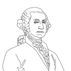 george washington coloring page free others coloring coloring page of george washington free coloring pages
