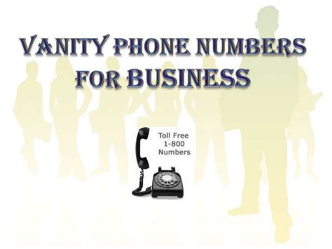 What Is A Vanity Phone Number by Vanity Phone Numbers For Business