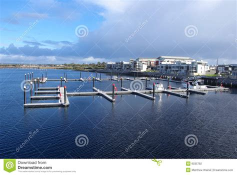 Pontoons In Marina Stock Photography   Image: 6035792