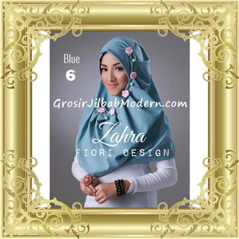 Jilbab Jilbab Instant Premium 0 jilbab instant syria premium zahra terbaru by fiori design no 6 blue grosir jilbab modern