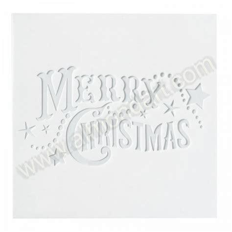 Merry Stencil Free Printable