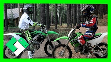 tvs motocross bikes dirt bike riding at forest lakes day 1575 funnycat tv