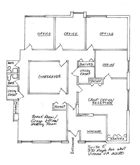 small space floor plans 4 small offices floor plans private offices large group