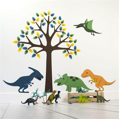 dinosaur wall stickers dinosaur bedroom junior rooms