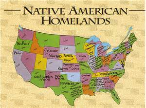 Native American Map Of North America by Native American History For Kids