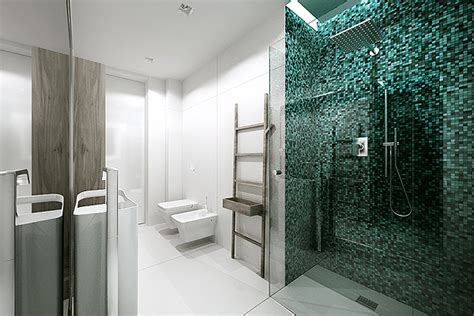 mosaic bathroom tiles interior design ideas