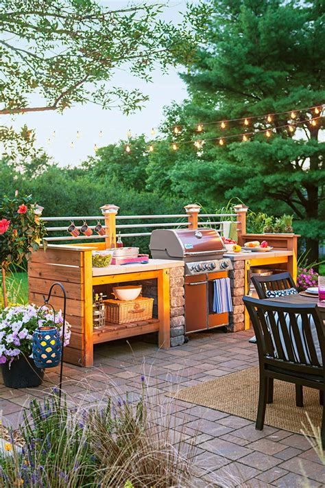 Best Outdoor Patio Designs 27 Best Outdoor Kitchen Ideas And Designs For 2017