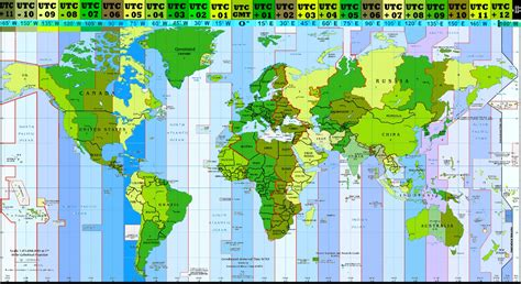 world time zones map world time zones converting table
