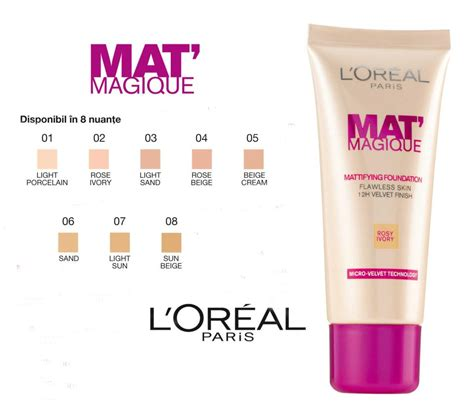 L Oreal Mat Magique Foundation l or 233 al mat magique foundation fab fashion fix