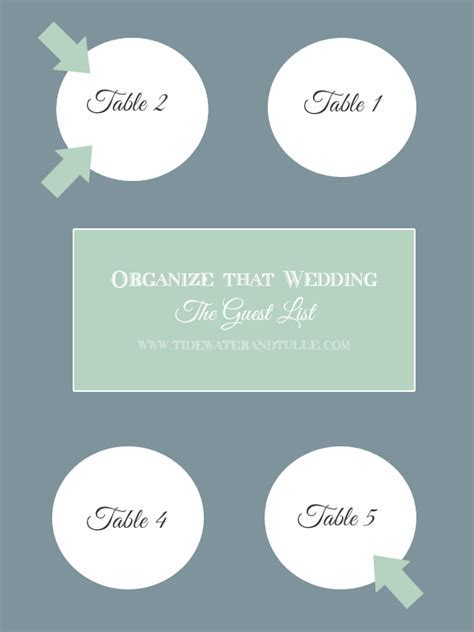 Unique Ways to Organize Your Wedding Guest List