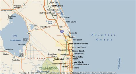 jupiter florida map map of jupiter