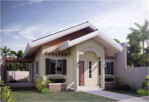 25 impressive small house plans for affordable home bungalow house plans with cost to build home design plan