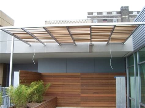 woods screen house with awnings modern wood awning sun shade pinterest patio patio