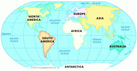 image of world map with continents continents of the world map roundtripticket me