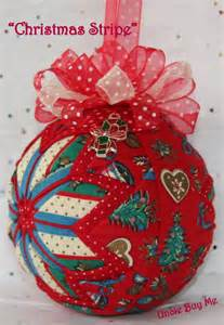 quilted ornaments quilt ball ornaments christmas by unclebuyme