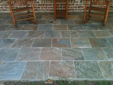 outdoor patio tile autumn slate patio traditional deck houston by