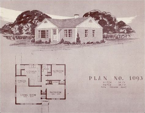 1940s house plans post wwii vintage house plans pinterest
