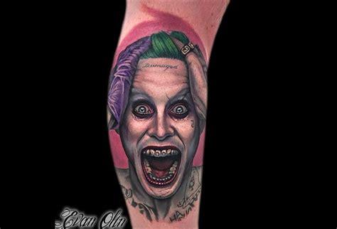 tatouage squad les supers vilains dans la peau